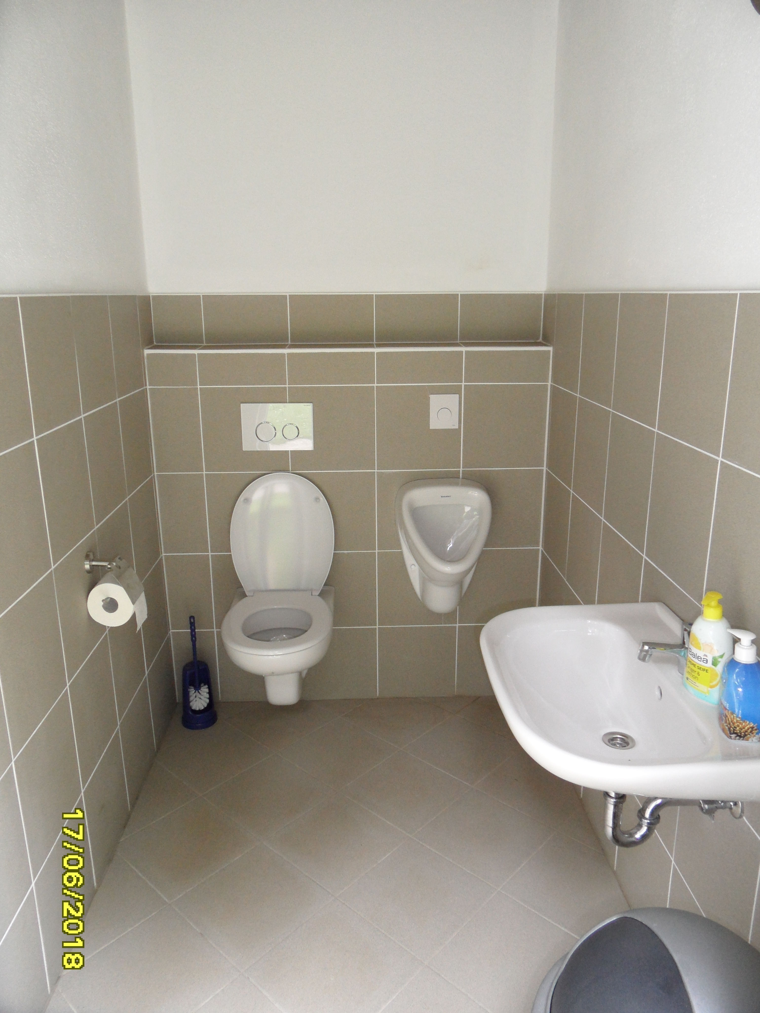 Grillhütte Toilette